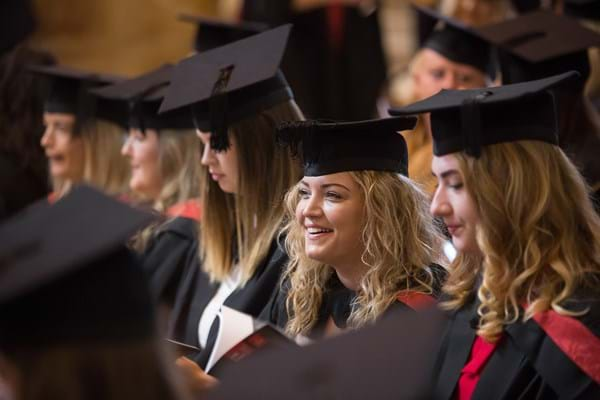 Image for Hartpury students celebrate their crowning moment as they graduate at Gloucester Cathedral
