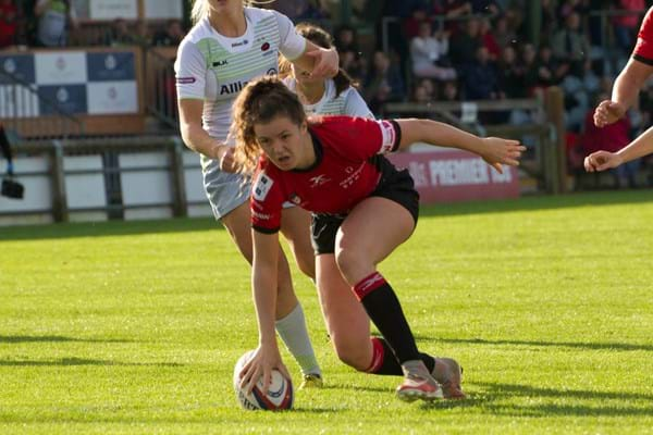 Image for Hartpury's Ellie earns England Women's start after try-scoring debut
