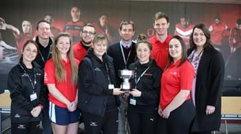 Hartpury hailed for leading the way with award success