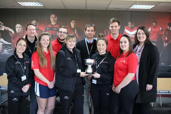 Image for Hartpury hailed for leading the way with award success