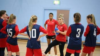 Hartpury hoping to get more girls involved in Futsal fun