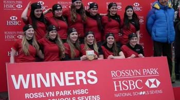 Image for Hartpury looking to take title for third year in a row at Rosslyn Park Sevens