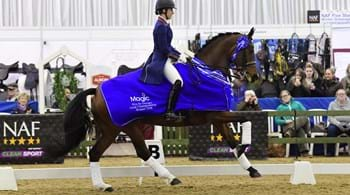 Six of the best for champion Charlotte at Winter Dressage Championships