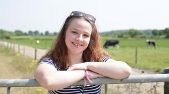 Student Libby has chance to win £10,000 in agriculture challenge
