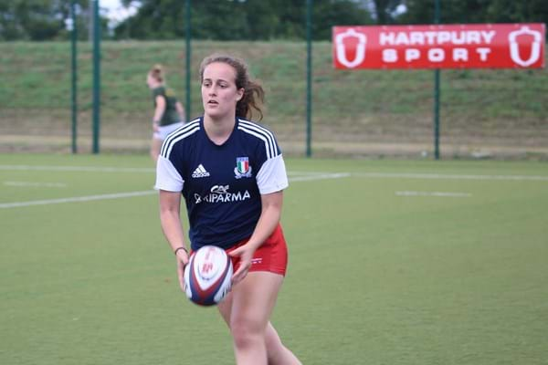 Image for From Hartpury to Six Nations rugby debut for A-level student Bianca