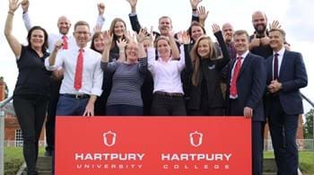 Image for It's official - Hartpury University has arrived!