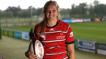 England rugby star Zoe delighted by flexibility provided by Hartpury