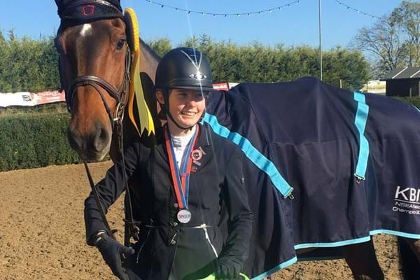 Image for Clarissa produces medal-winning display at national championships