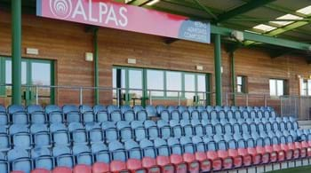 International backing for Hartpury as Alpas puts name to rugby stand