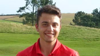 Golfer Alex gets in the swing to land international honours
