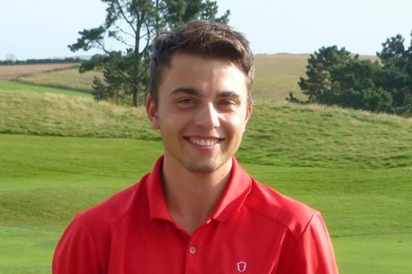 Image for Golfer Alex gets in the swing to land international honours