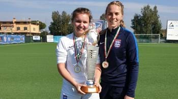 Image for Hartpury duo clinch international honours with England