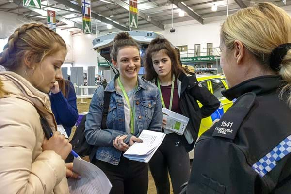 Image for Careers fair at Hartpury proves big success