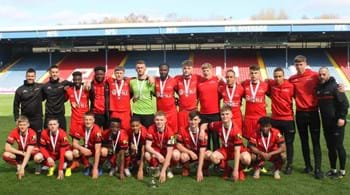 Hartpury College scores major victory  in national football competition – again