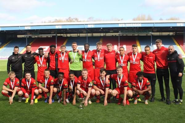 Image for Hartpury College scores major victory  in national football competition – again