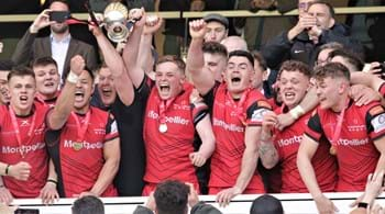 Hartpury University wins national rugby title for third year in a row