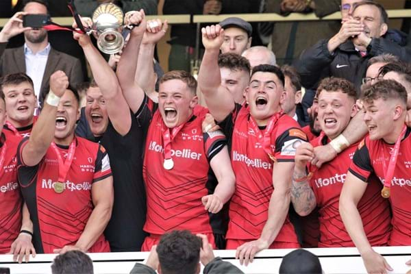 Image for Hartpury University wins national rugby title for third year in a row