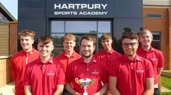 Hartpury golfers clinch league and cup double