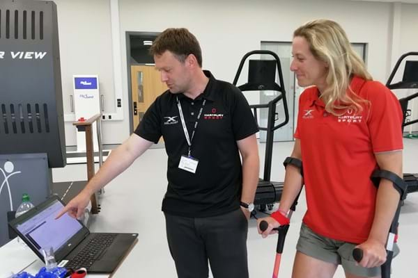 Image for Hartpury graduate Mel Nicholls powers to world record
