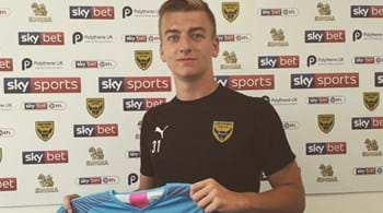 Hartpury footballer Max Harris  signs for Oxford United
