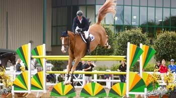 William Funnell wins blue riband event at  Hartpury's Showjumping Spectacular