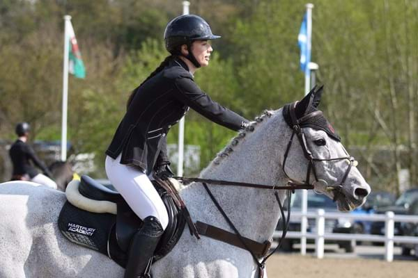 Image for Hartpury's Georgia Cabb and Casper enjoying great summer