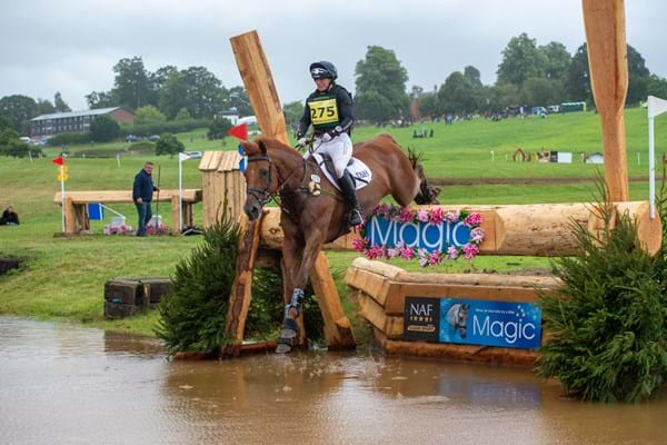Image for Piggy French celebrates more success at NAF Five Star International Hartpury Horse Trials