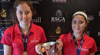 Hartpury students clinch British Schools and Colleges golf title