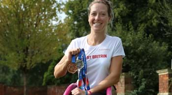 World record holder and Hartpury graduate Mel Nicholls is speaker at Hartpury University