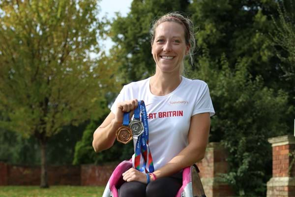 Image for World record holder and Hartpury graduate Mel Nicholls is speaker at Hartpury University
