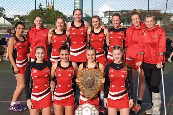 Image for Hartpury College students retain Gloucestershire netball crown