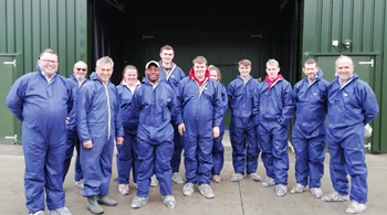 Hartpury University agriculture students  gain career advice on Avara Foods field trip