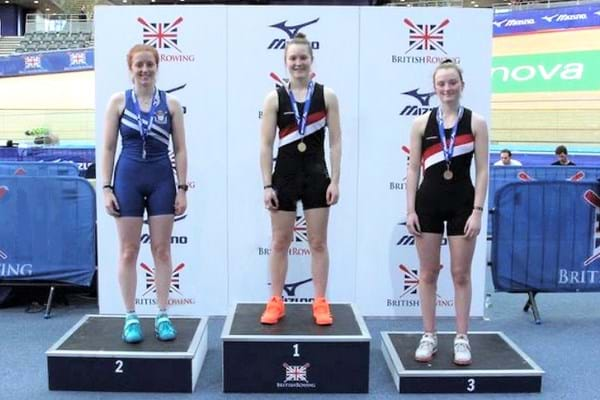 Image for Hartpury students win 14 medals at  British Indoor Rowing Championships