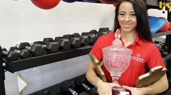 Image for Hartpury University student Laura is muscling her way to the top in bodybuilding