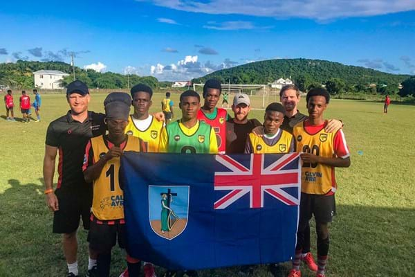 Image for Hartpury teams up with football club in the Caribbean to support students