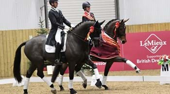 Dressage legend Charlotte Dujardin clinches national title at Hartpury